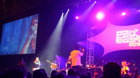 A montage of the concerts, events, and show floor at PAX East 2010.